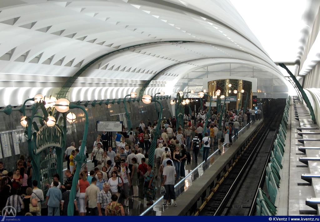 Общий вид станции с балкона