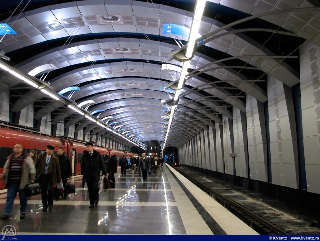 Подземная станция Внуково