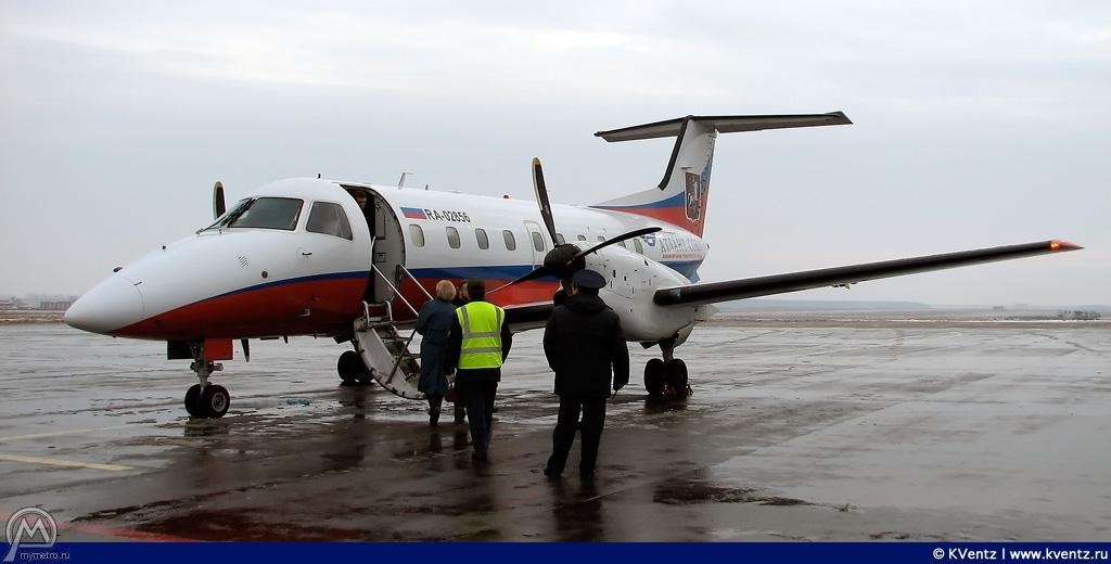 А вот и наша птичка: Embraer-120
