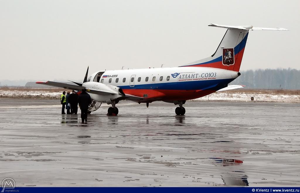 Embraer-120, другой ракурс
