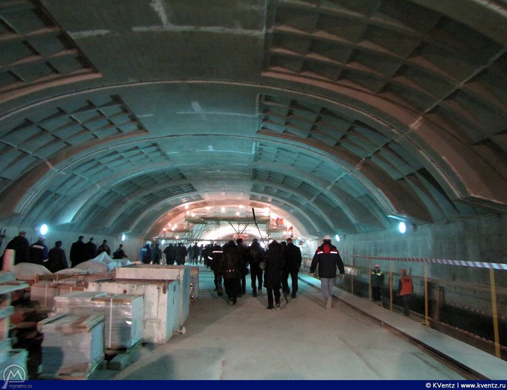 Первые шаги по станции Митино