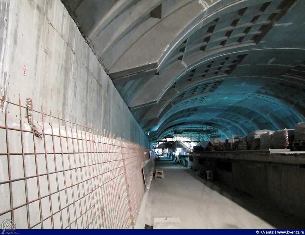 Вид на станцию с путей