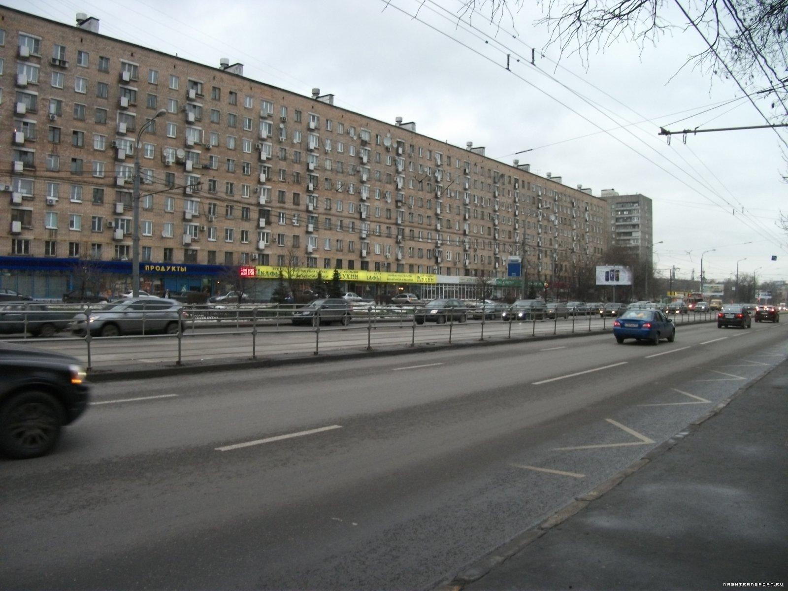 Обособление трамвайной совмещёнки на Б.Черкизовской улице