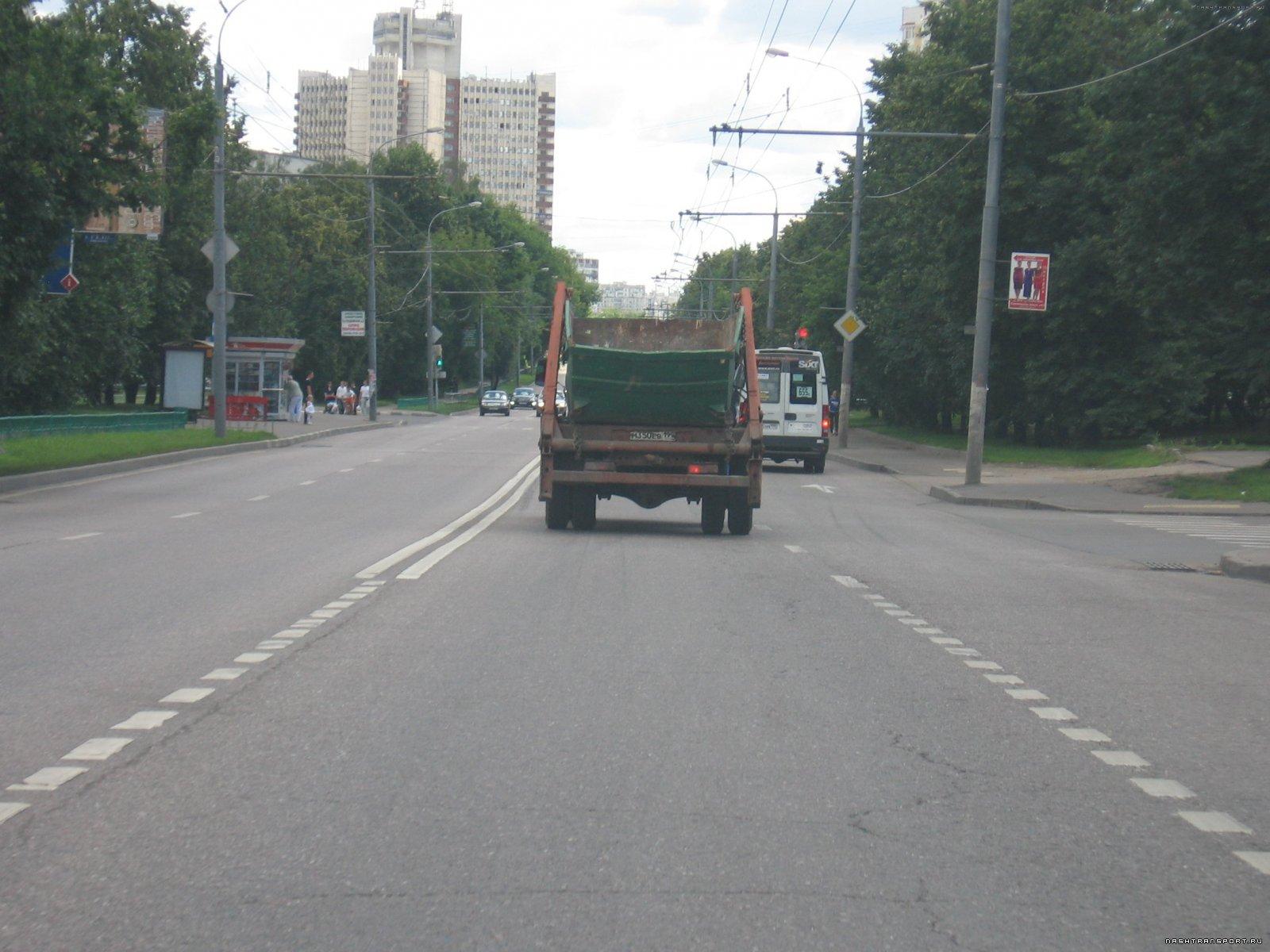 Светофор Коровинское шоссе - Коровинский проезд