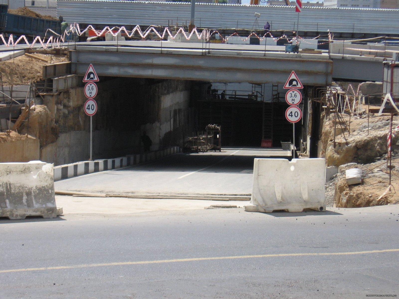 Выход АБ тоннеля на Большую Академическую
