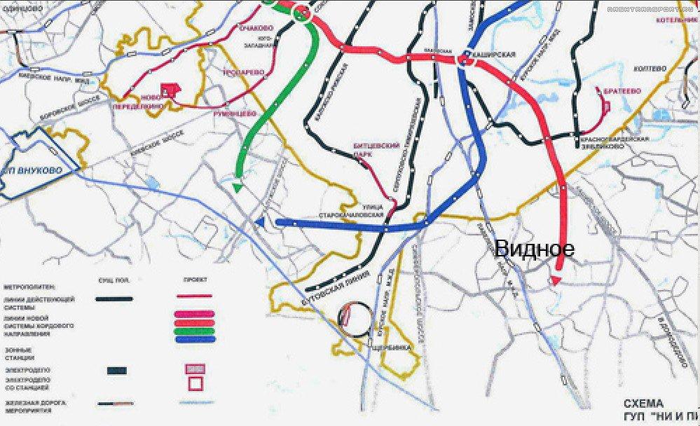 Бирюлевской линии метро,