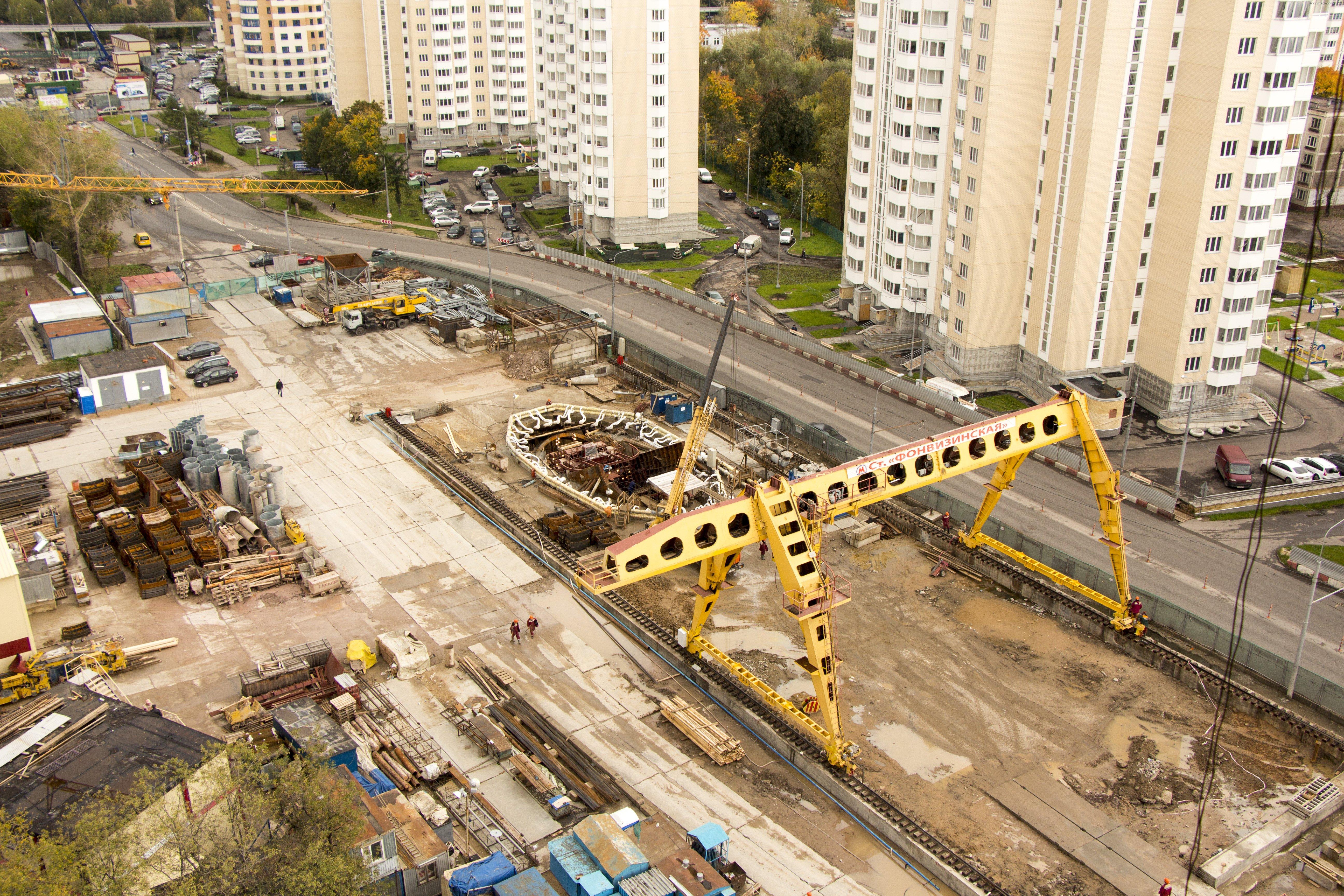 схема строящего метро люберецкие поля