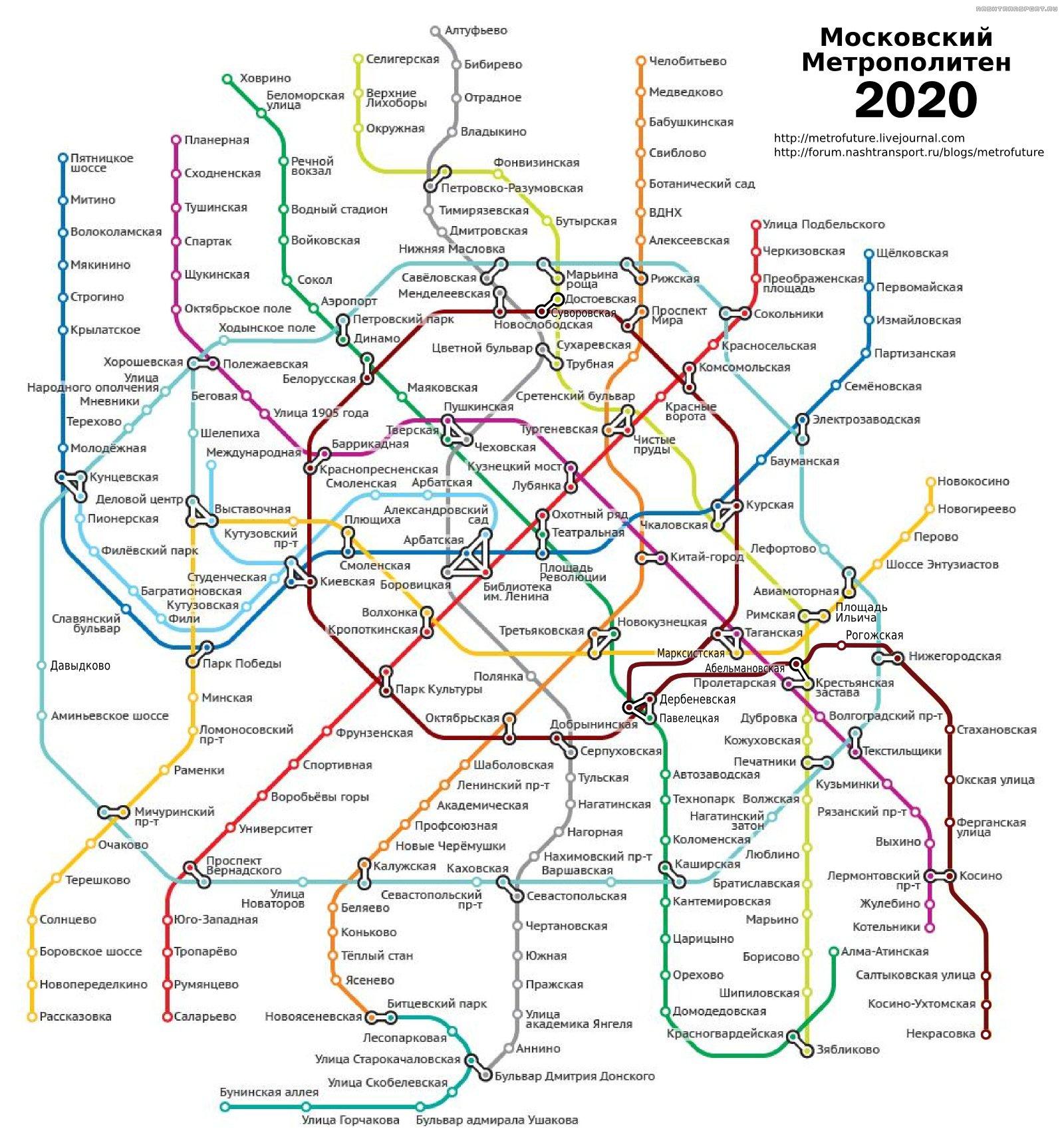 схема кожуховской линии метрополитена некрасовка