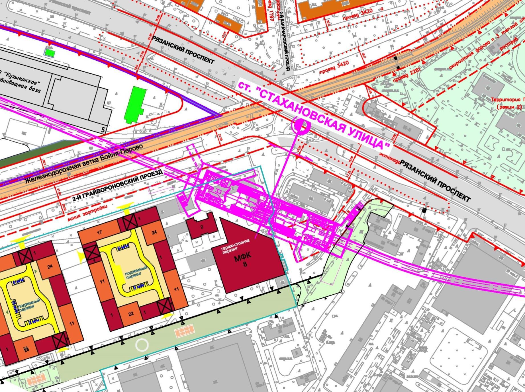 план застройки москвы до 2020 года схема свао
