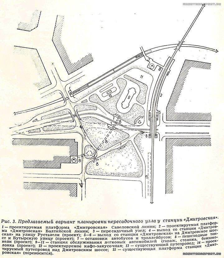 Дмитровская в Строительство и Архитектура Москвы 1961 номер