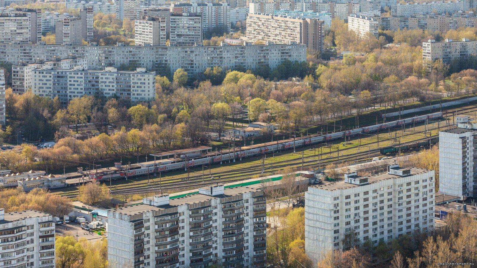 Дневной экспресс Москва-Тамбов 1 мая 2021