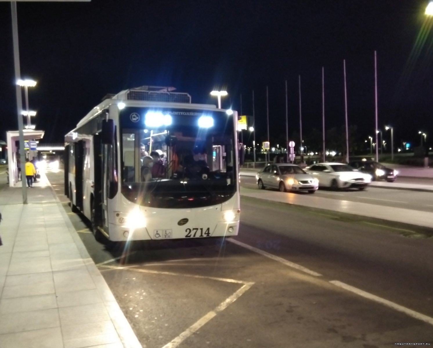 1у.Троллейбус без КС.